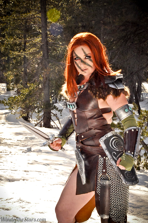 Aela the huntress cosplay