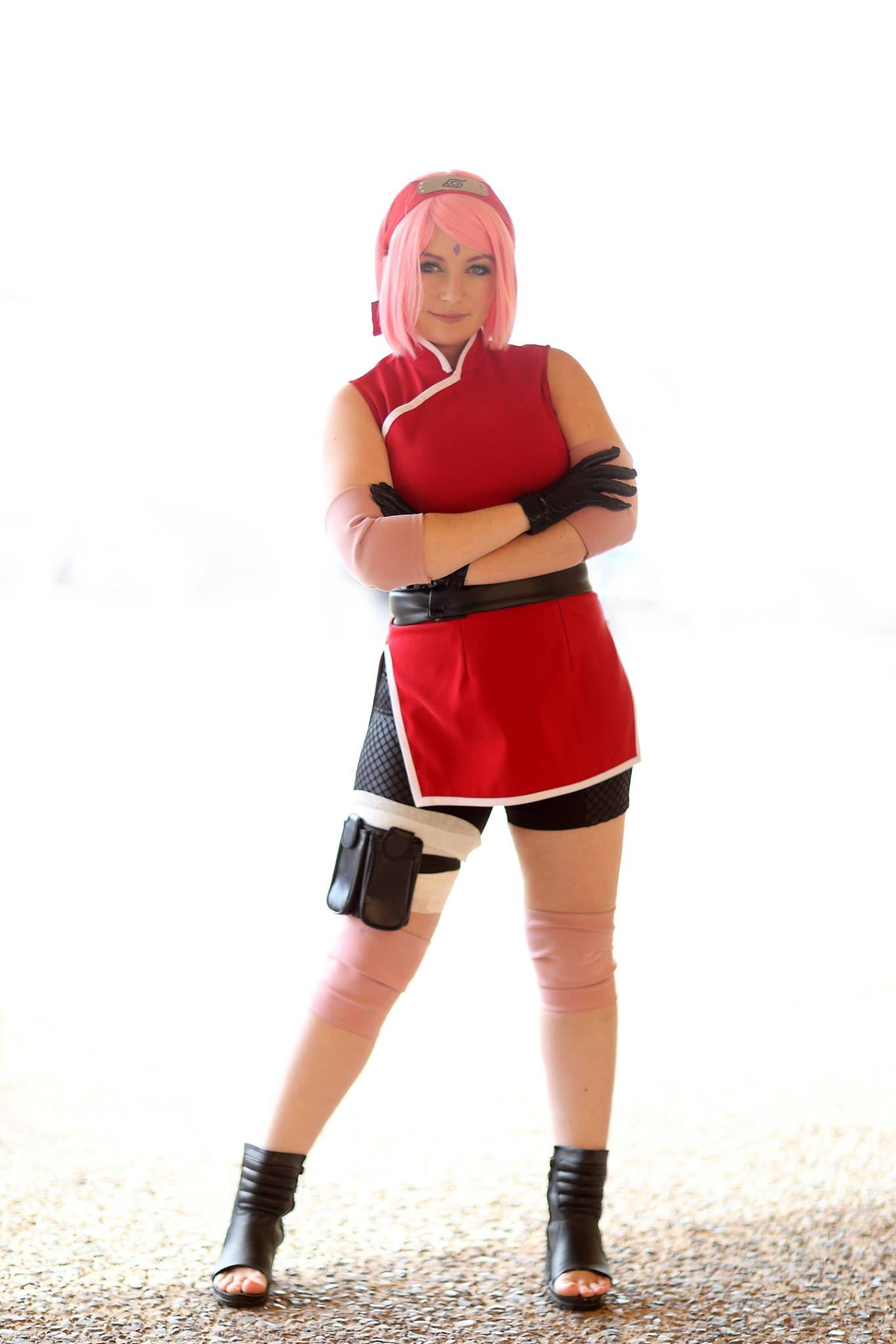 last cosplay the Sakura